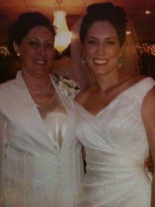 Wedding Pic Mom and Me